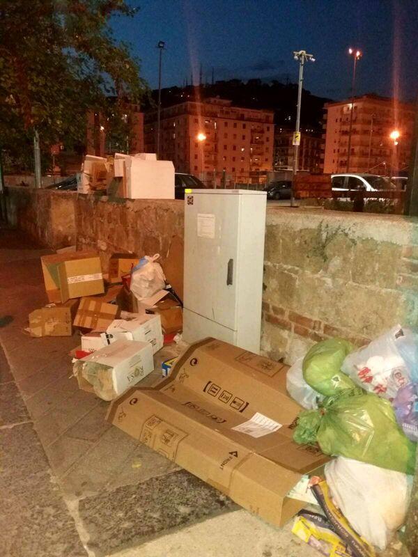 Da Torrione al centro storico: degrado e inciviltà a Salerno