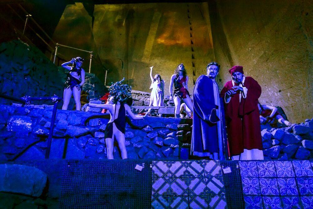 Il Paradiso di Dante al Castello di Arechi: magia sotto le stelle