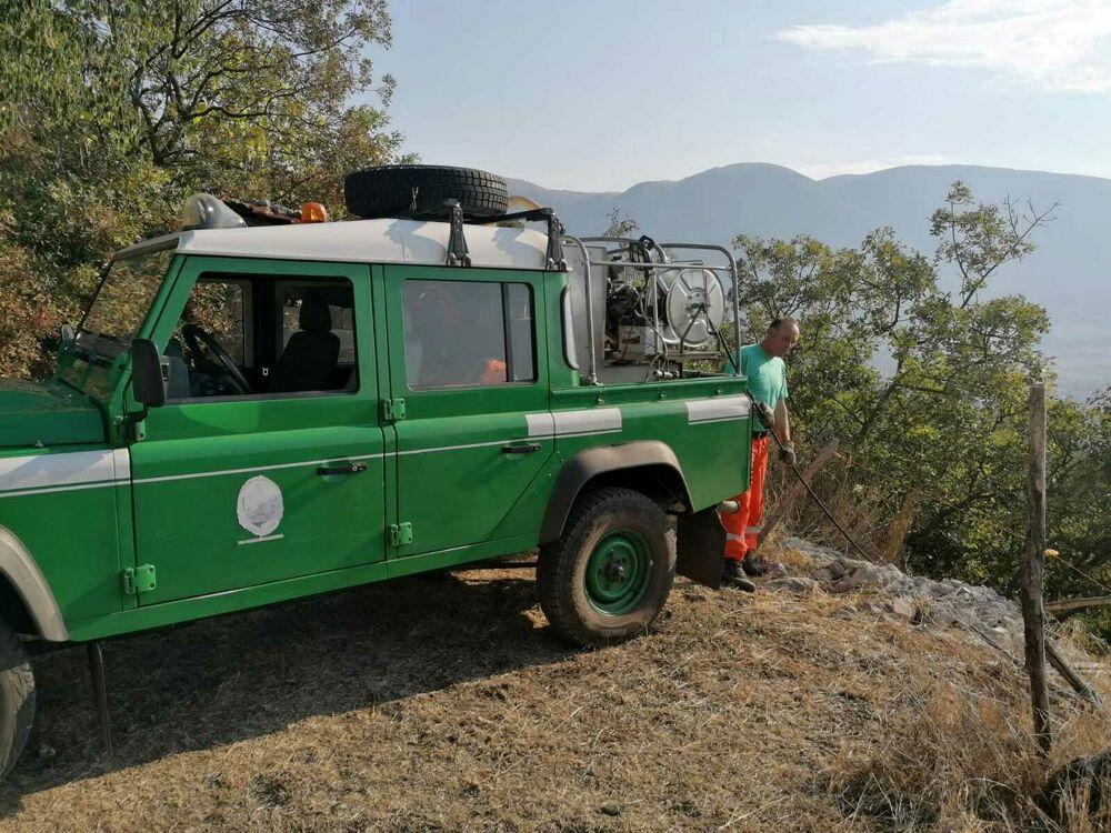 Brucia il Vallo di Diano: incendi tra Atena e Sala, rifiuti a fuoco e criticità a Polla