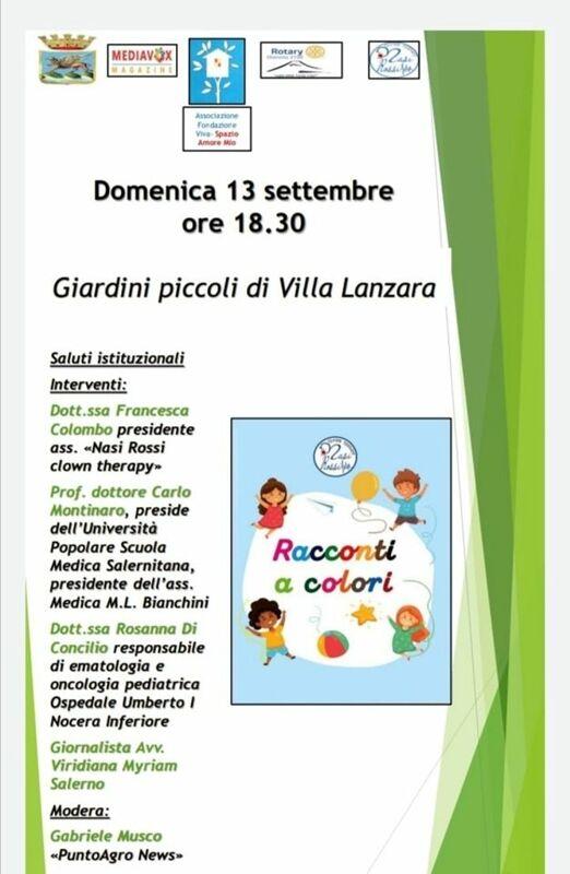 """Presentazione del libro """"Racconti a colori"""""""