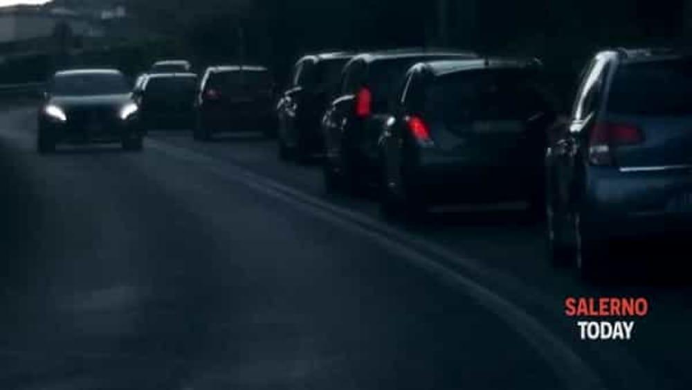 Traffico nei pressi dello svincolo di Fratte: la segnalazione