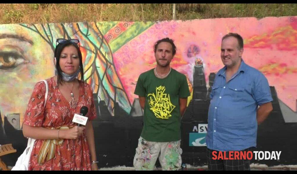 Un murales per le vittime dell'inquinamento: l'intervista