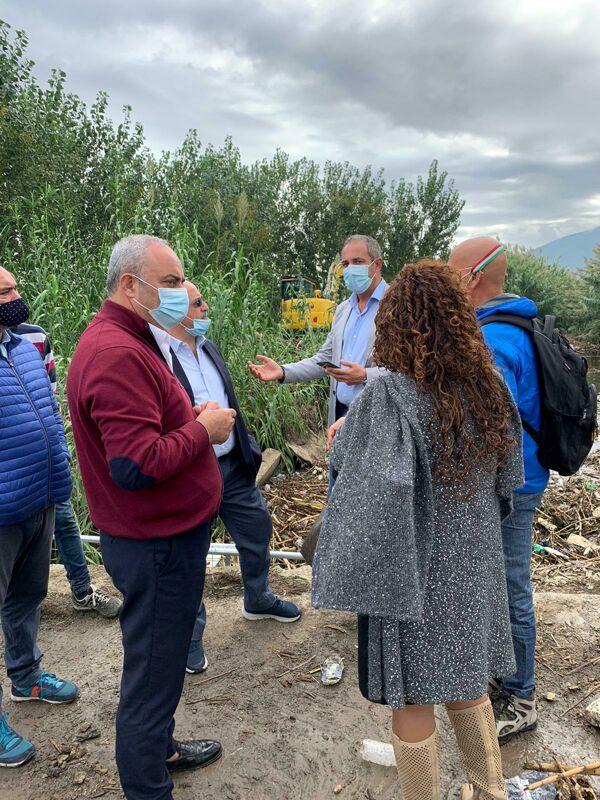 """Maltempo nell'Agro, Carpentieri (FdI) nelle zone colpite: """"Venga Bonavitacola"""""""