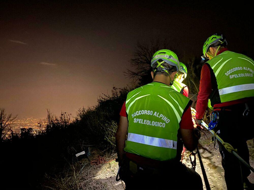 Si perdono sui Monti Lattari: coppia salvata dal Soccorso Alpino