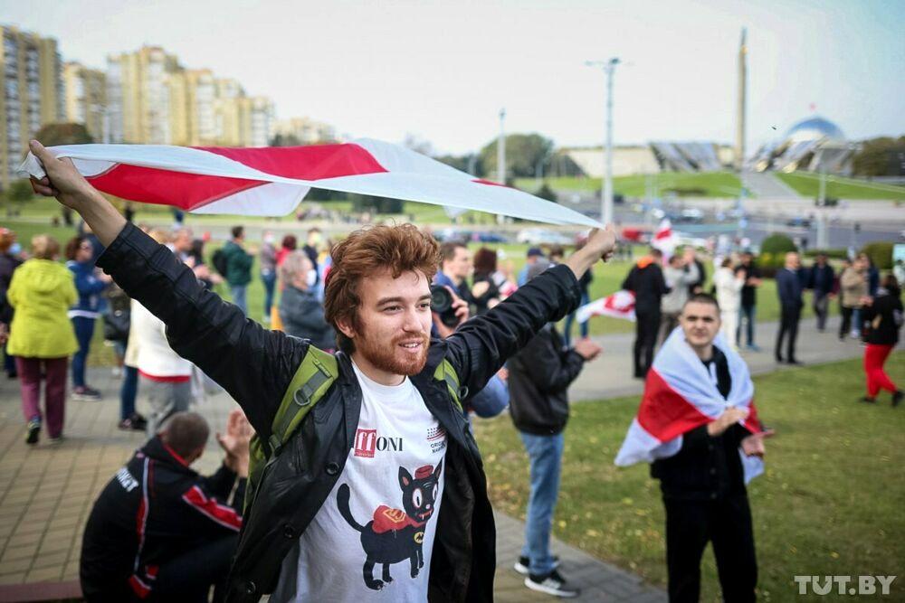 Proteste in Bielorussia: anche una maglietta del Giffoni tra le foto simbolo