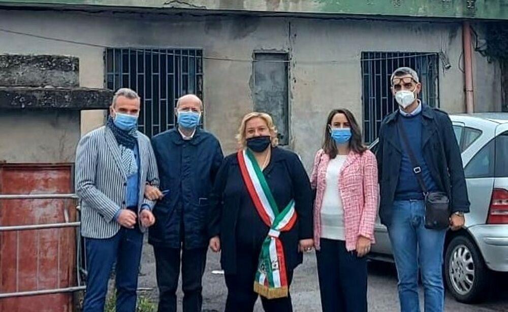 Autorimessa comunale, aperto il cantiere per i lavori a Castel San Giorgio