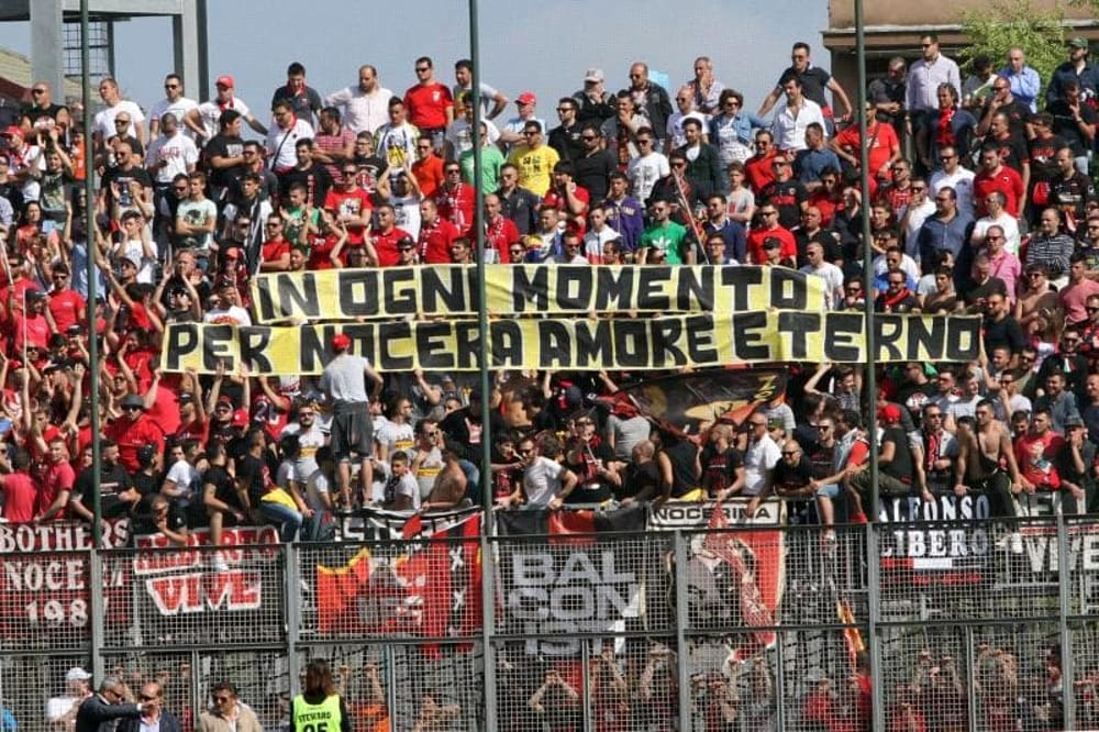 Covid-19, allarme a Nocera: 15 casi di positività nella Nocerina Calcio