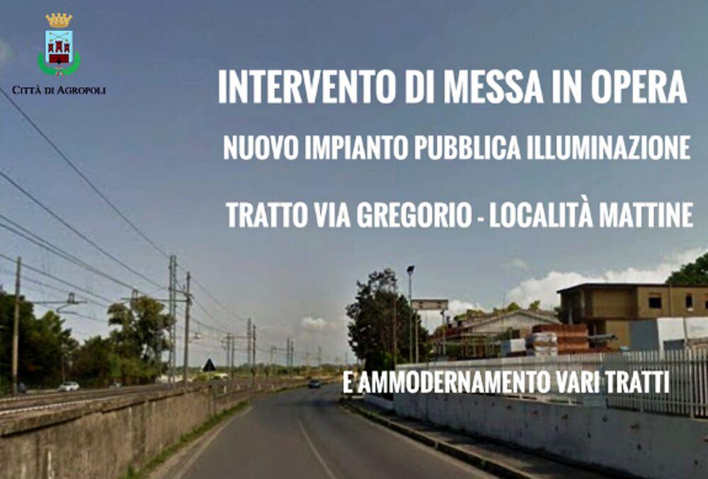 Pubblica illuminazione, al via i lavori nelle strade di Agropoli: parla il sindaco