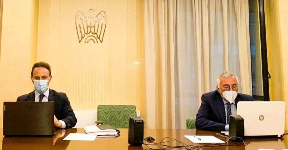 Coronavirus, De Luca (Pd) in video call con il leader degli industriali Bonomi