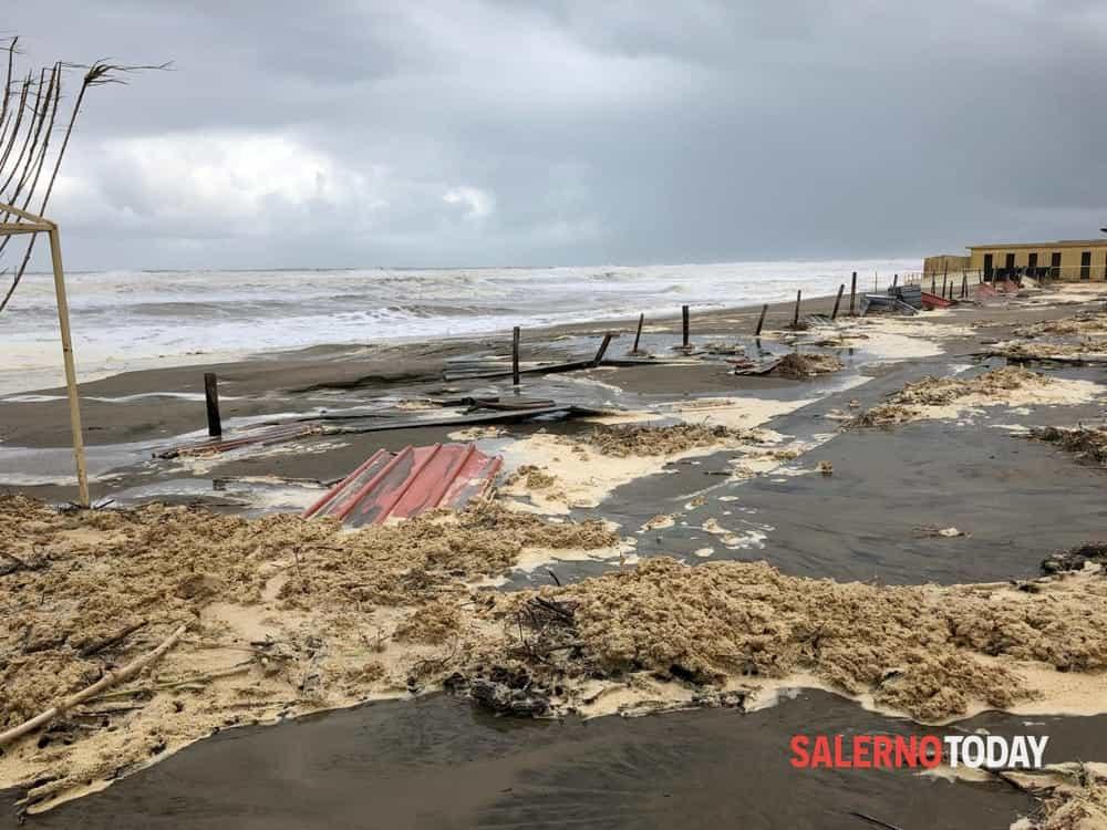 Maltempo in Cilento: chiesto lo stato di calamità anche per Centola