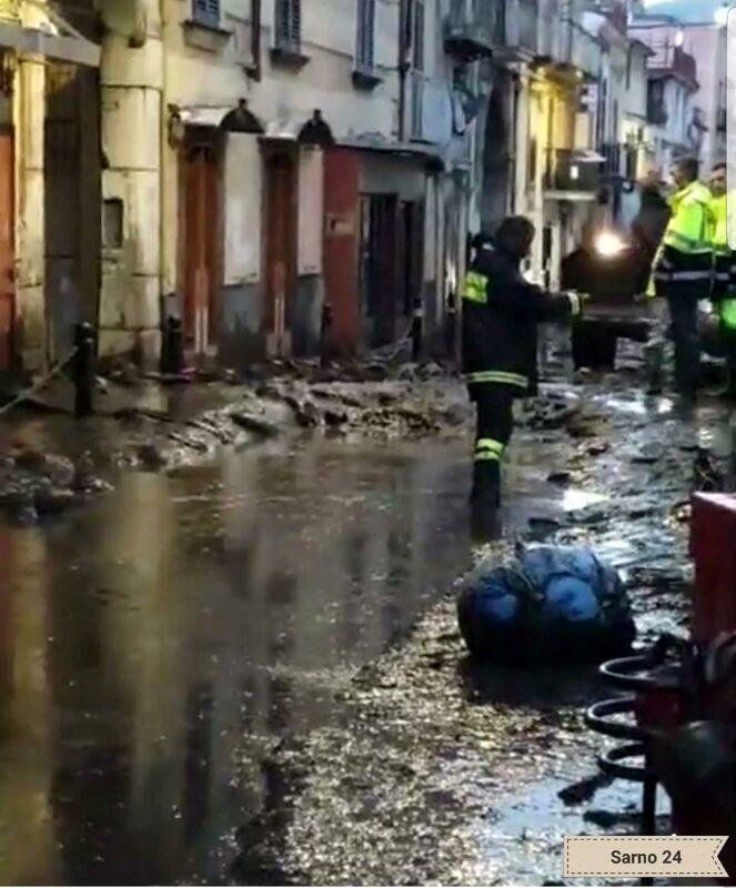 Alluvione a Crotone: partiti anche i volontari della Protezione Civile di Salerno