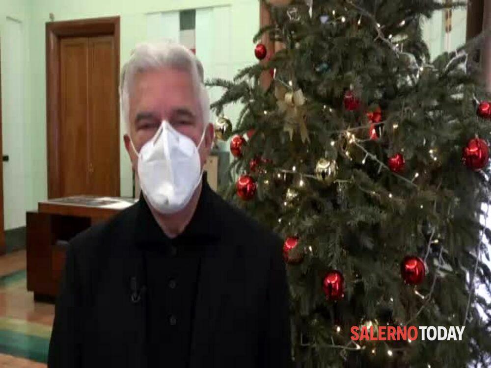 Capodanno, gli auguri del sindaco ai salernitani: il video