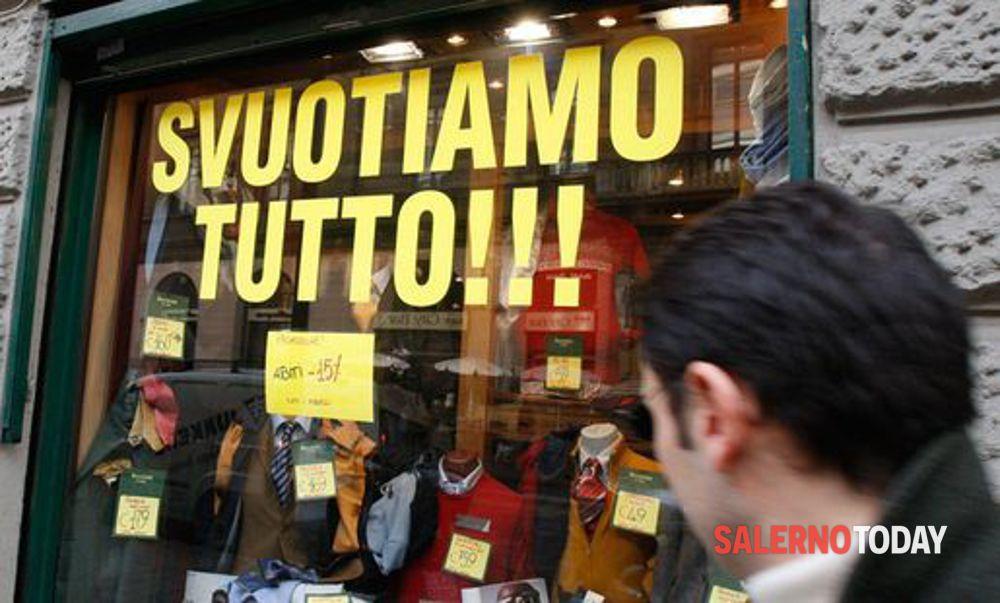 """Crisi economica, Confesercenti Salerno: """"Prosegue stillicidio delle imprese"""""""