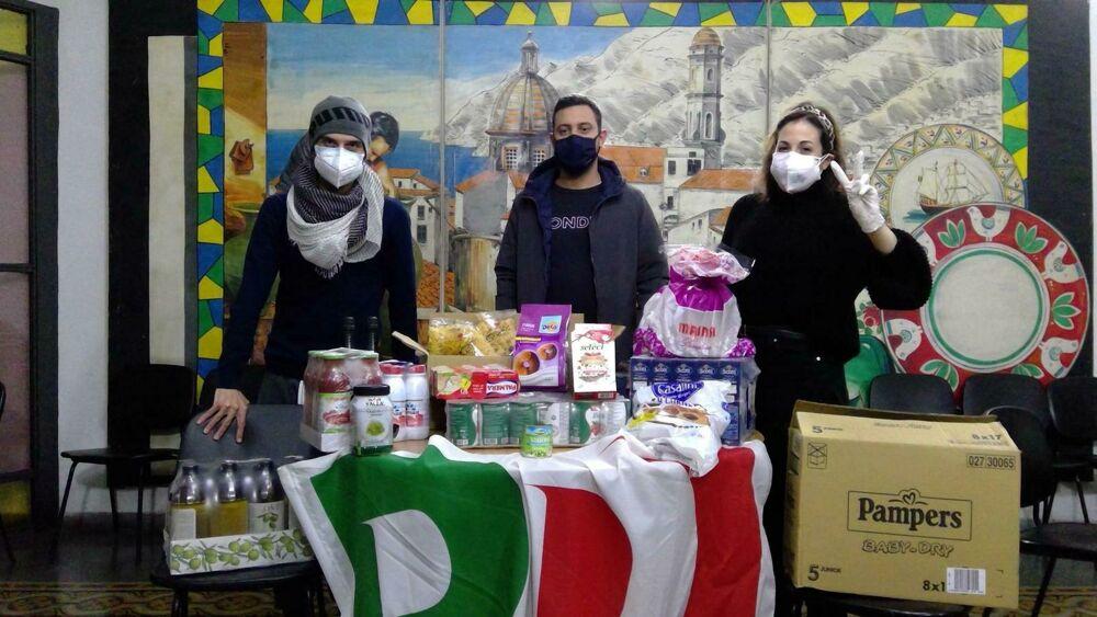 """Beneficenza con la bandiera del Pd a Vietri, Musto (Lega): """"E poi se la prendono con Salvini?"""""""