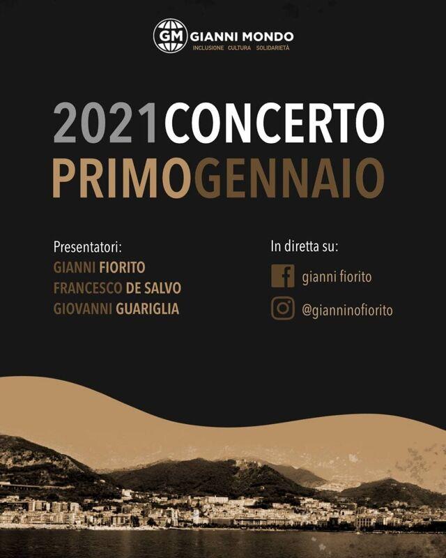 Giannimondo e il concerto di Capodanno: musica no stop in diretta social