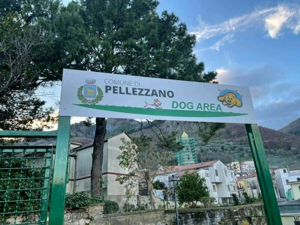 """Pellezzano, inaugurata la prima """"Dog Area"""" per gli amici a quattro zampe"""