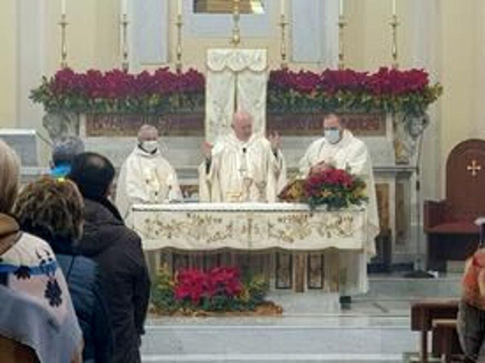 Castel San Giorgio, il vescovo Bellandi celebra la Santa Messa della domenica