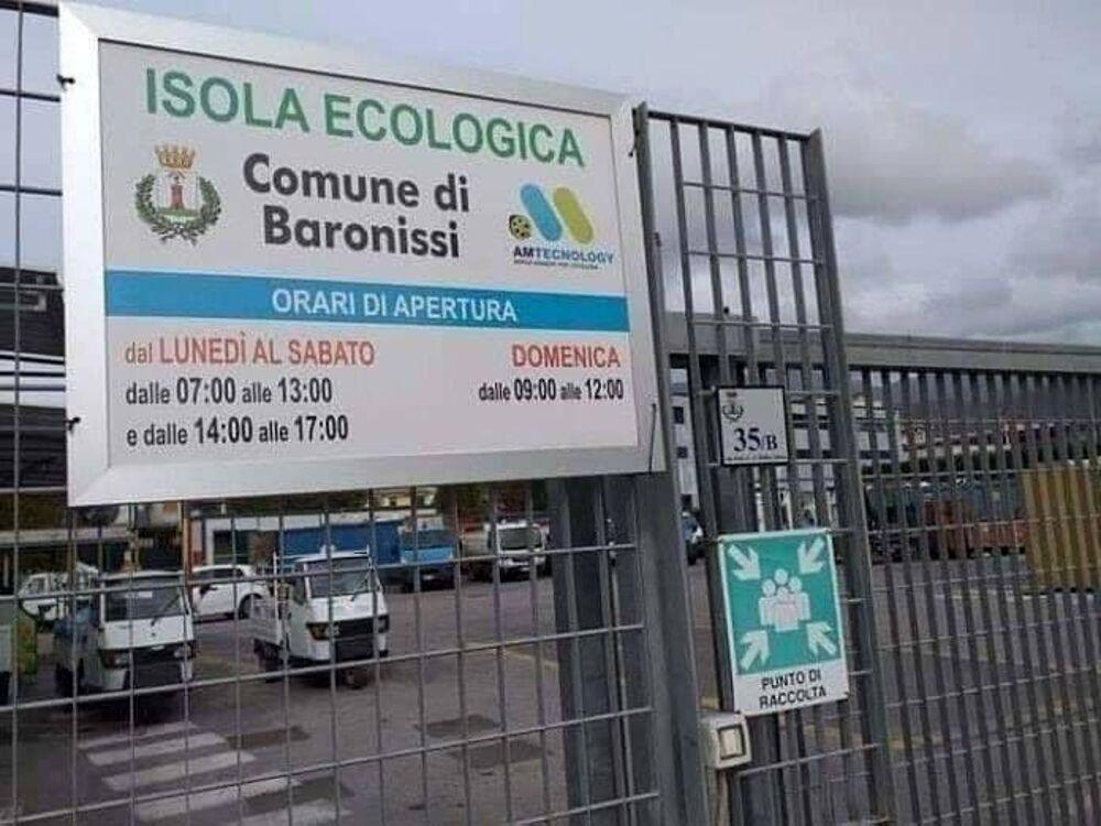 Isola ecologica a Baronissi: i nuovi orari, riaperta a tempo pieno