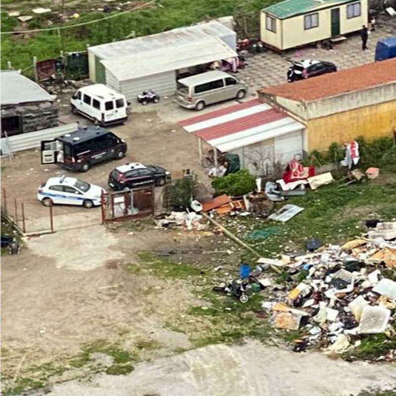 Sversamenti nocivi e furti: al setaccio Magazzeno, i carabinieri sorvolano la zona
