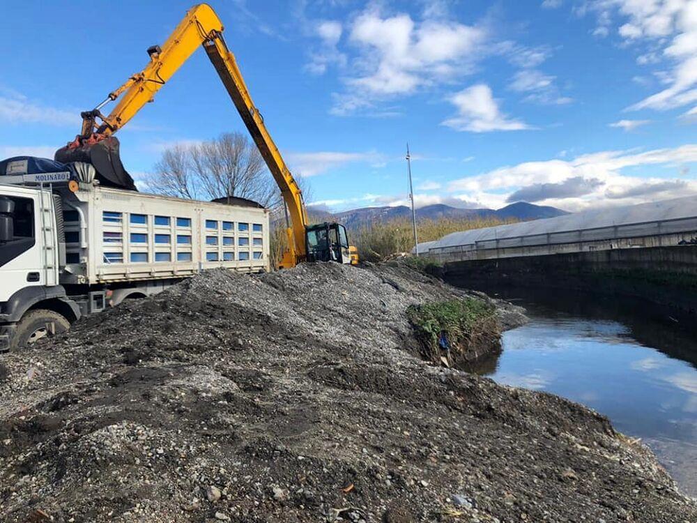 Rio Sguazzatoio, proseguono i lavori di bonifica