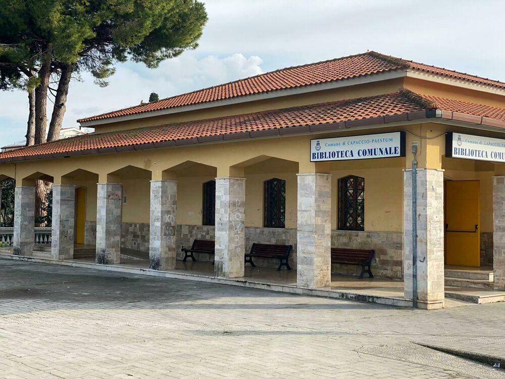 Biblioteca Comunale di Capaccio Paestum: al via i lavori, parla il sindaco