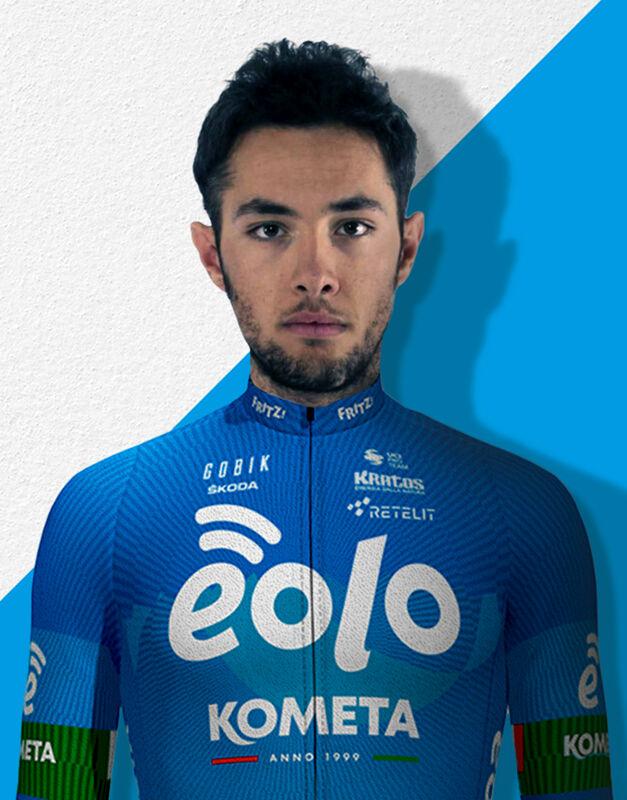 """Ciclismo: Vincenzo Albanese nel nuovo team """"Eolo-Kometa"""" di Basso e Contador"""