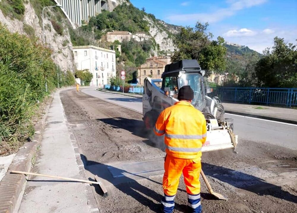 Messa in sicurezza fra Pisciotta e Palinuro e del tratto tra Salerno, Cava e Vietri: i disagi