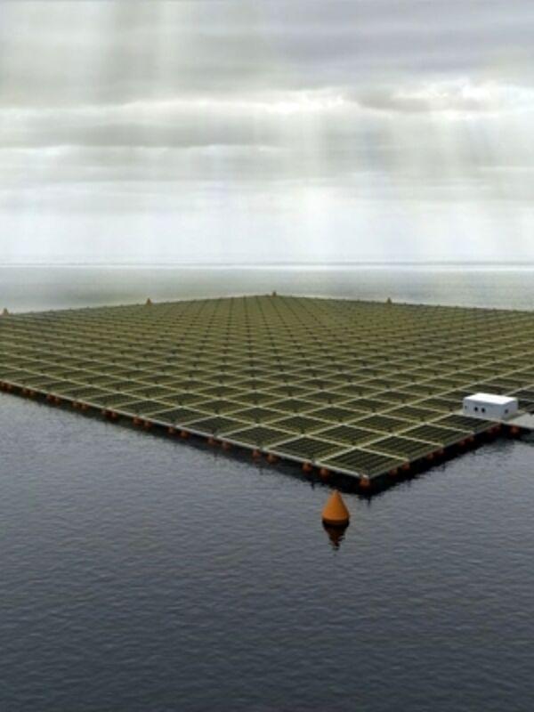 Il fotovoltaico flottante, l'innovazione sostenibile a cura di Saipem