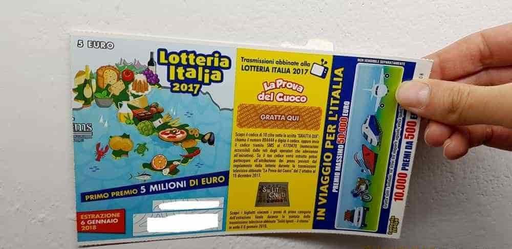 Lotteria Italia: in Campania premi per oltre 1 milione, ecco le aree dove si è vinto