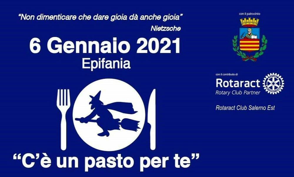 """""""C'è un pasto per te"""": la Befana vien di giorno a Salerno"""