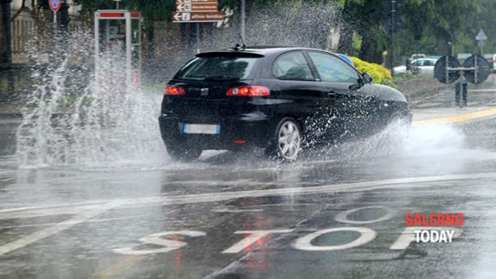 Ancora maltempo in Campania: le previsioni,  nuova allerta gialla