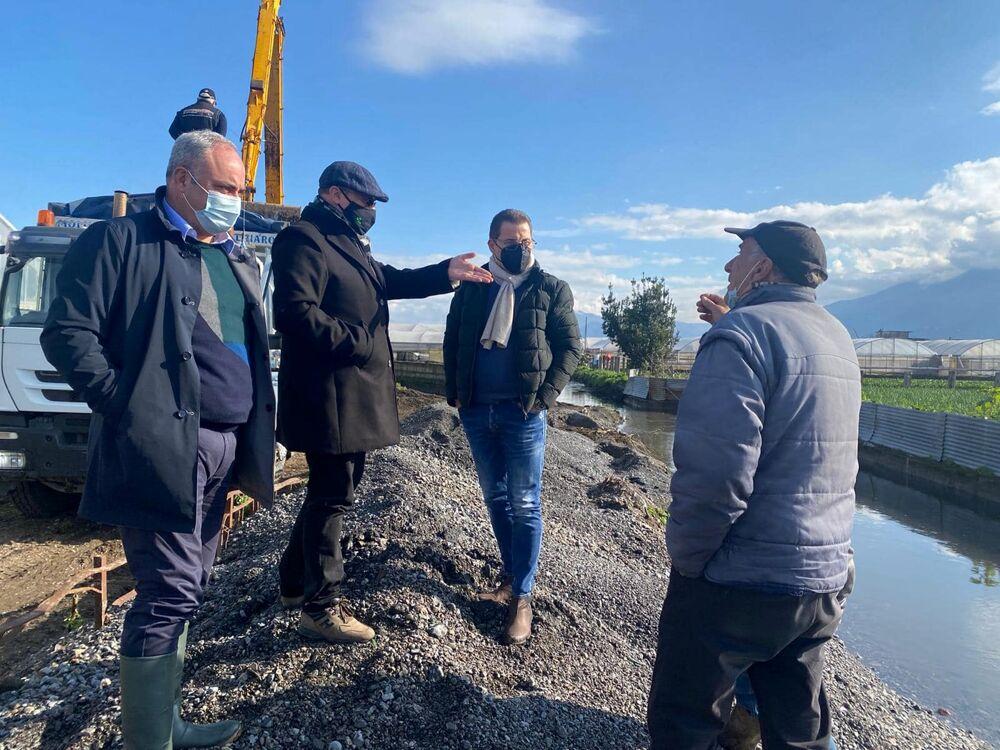 Sono cominciati i lavori di dragaggio del Rio Sguazzatoio: le richieste del sindaco