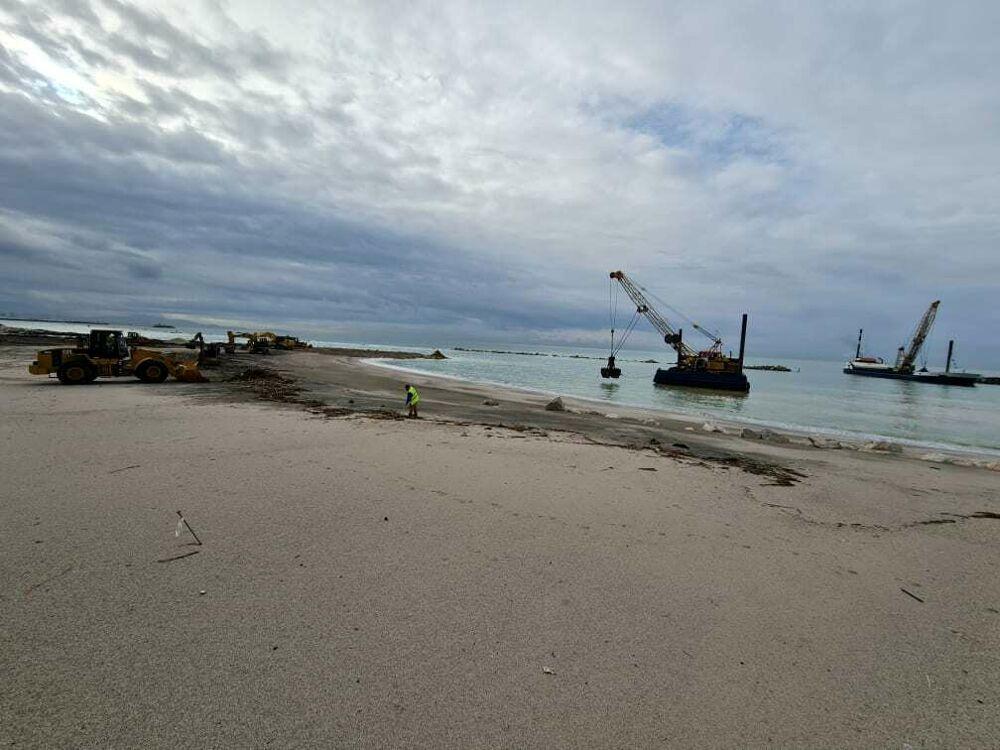 Ripascimento del litorale: riprendono i lavori per allungare la spiaggia a Mercatello