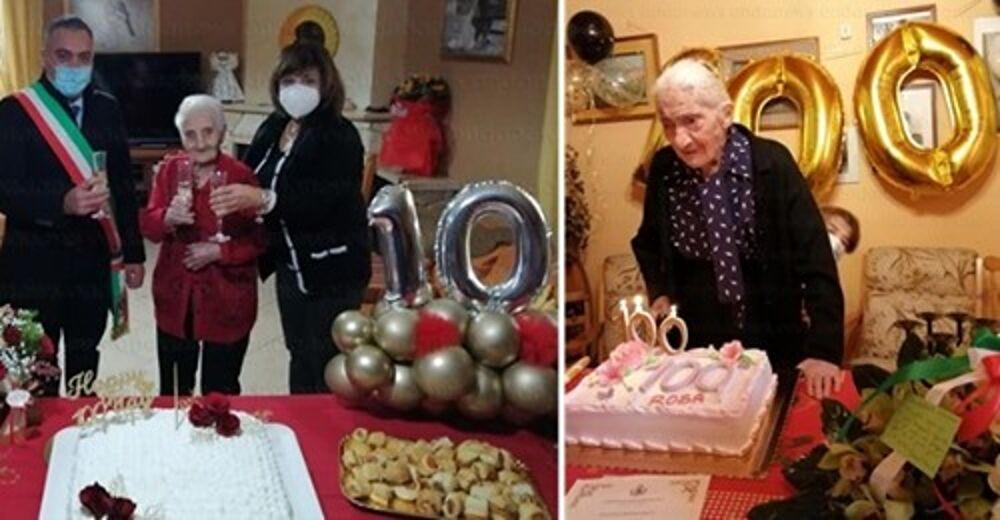 Doppio centenario a Buonabitacolo, nonnina compie 107 anni a Tramonti
