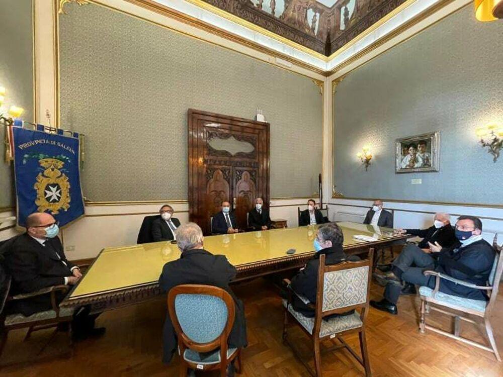 Spazi dell'ex tribunale di Salerno: il tavolo di confronto con Piero De Luca