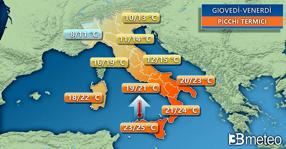 Previsioni meteo: assaggio di primavera fino a venerdì, a Salerno e provincia
