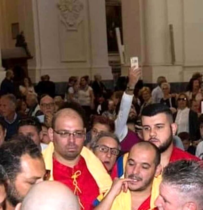 """Dolore a Salerno per la scomparsa di Vincenzo Casella, uno dei portatori della statua di """"San Matteo"""""""