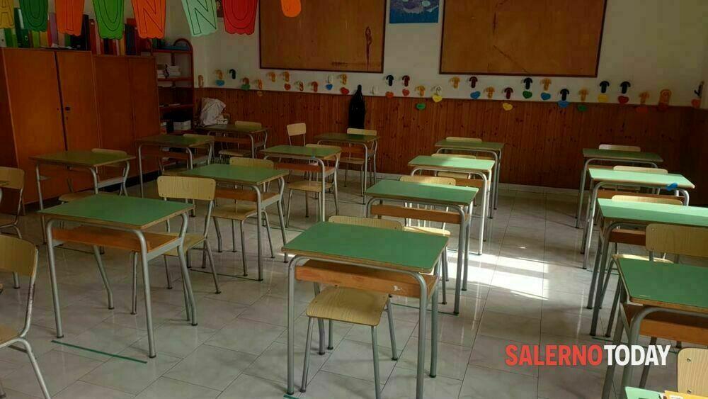 Covid-19, docente positivo a Sassano: sospesa la didattica in presenza per la sezione A