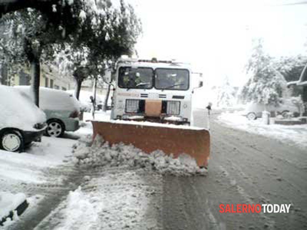 Gelate, nevicate e vento forte: prorogata l'allerta meteo in Campania