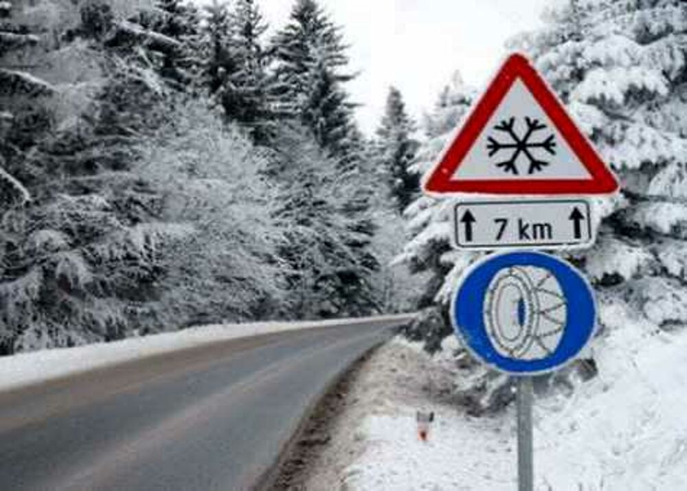 Allerta neve in provincia di Salerno: gli avvertimenti