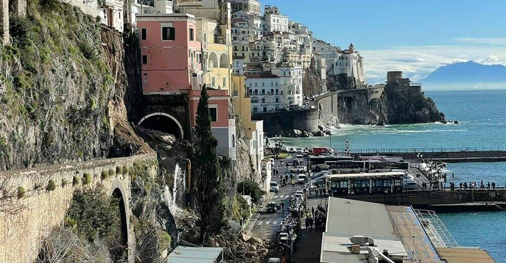 """Frana ad Amalfi, la denuncia Distretto Turistico: """"Evento prevedibile"""""""