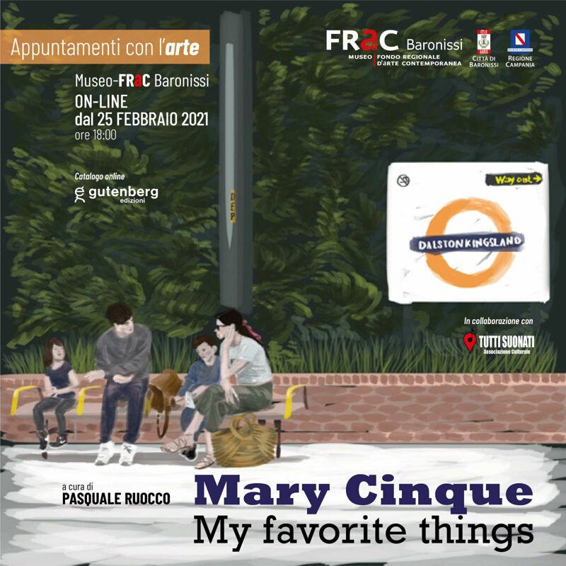 "Baronissi, al Museo FRaC si inaugura la mostra online di Mary Cinque ""My favorite things"""