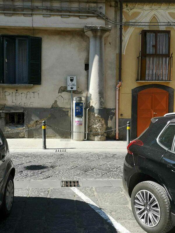 A Sarno installato parchimetro vicino ad un'abitazione privata. Rega (Sarno Civica): interrogazione consiliare
