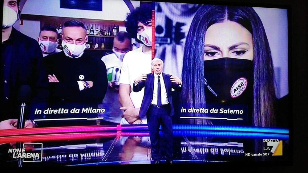 Zona rossa e restrizioni: l'Aisp di Salerno parla a Giletti e annuncia le prossime mosse