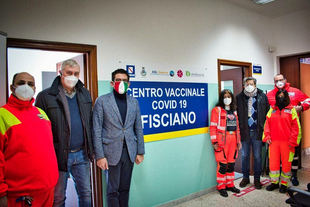 Covid-19: inaugurati i punti vaccinali di Pagani e Fisciano