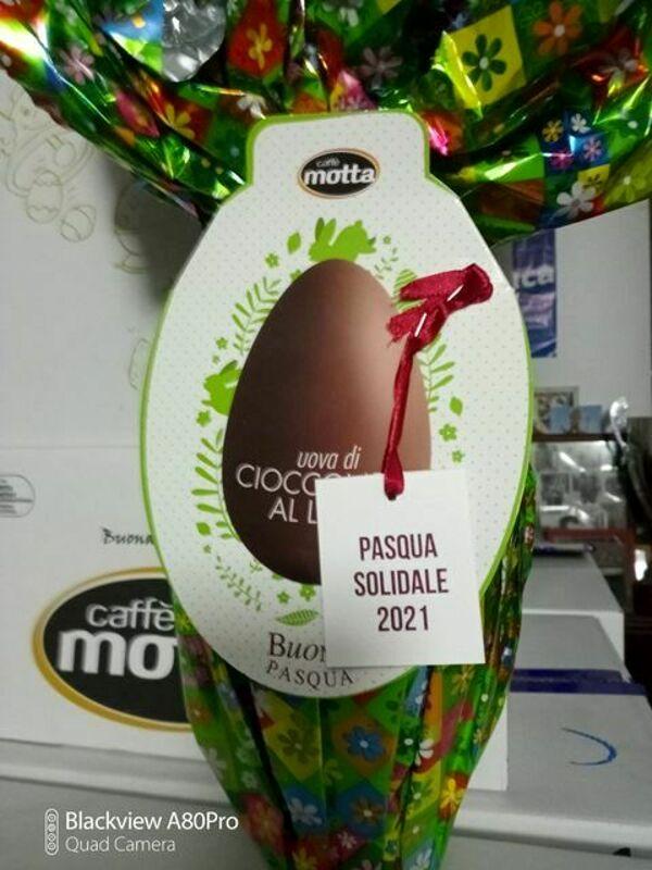 Pasqua solidale: consegna delle uova al Ruggi, in ricordo di Melissa La Rocca