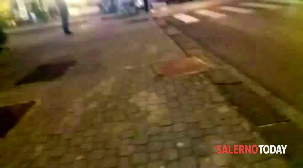 Scooter a tutta velocità a Torrione: la videosegnalazione