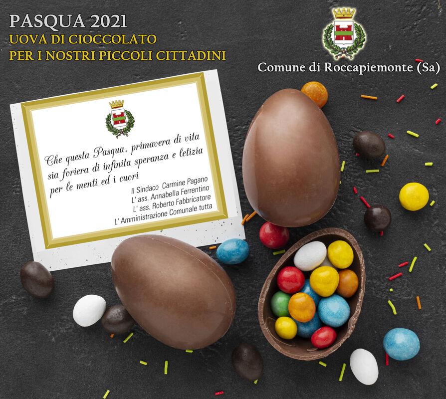 Roccapiemonte: in arrivo le uova di cioccolato per i bambini
