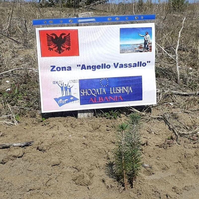 "Curiosità: nel National Park Djavaka Karavasta nasce il ""Giardino Angelo Vassallo"""