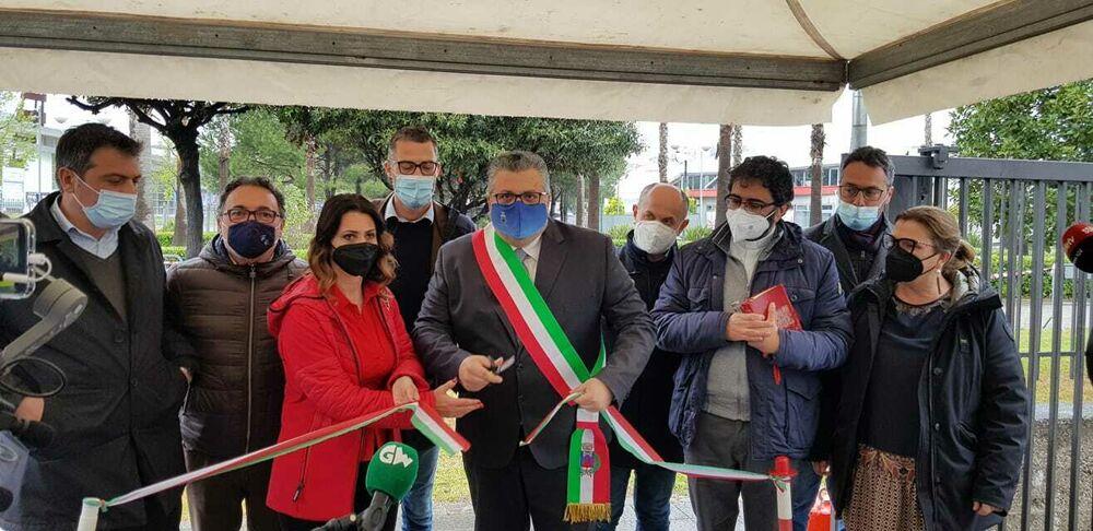 Vaccini anti-Covid: inaugurato il centro ad Agropoli, domani Usca a Capaccio